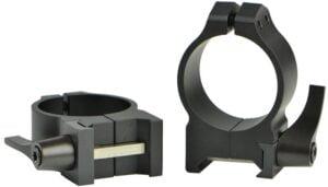 Кольцa быстросъемные Warne Maxima Quick Detach Ring. d – 30 мм. Medium. Weaver/Picatinny