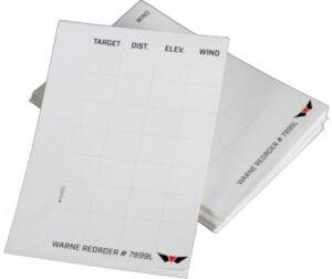 Карточка ввода поправок Warne