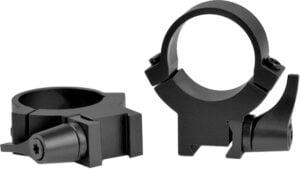 Быстросъемные кольца Warne Rimfire QD. d – 25.4 мм. High. 11 мм