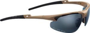 Очки баллистические Swiss Eye Apache. Цвет – песочный, 3 сменные линзы (прозрачный/затемненный/оранжевый), чехол из микрофибрового материала, футляр
