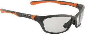 Очки Swiss Eye Drift цвет: оранжевый/черный, фотохром. линзы, чехол из микрофибрового материала, футляр