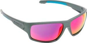Очки Swiss Eye Freefall цвет: металлик, линзы с повыш. контрастом, чехол из микрофибрового материала