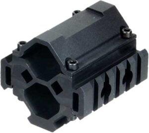 Крепление Leapers UTG MNT-BR005XL для ствола диаметром 20-25 мм. 3 планки. Weaver/Picatinny