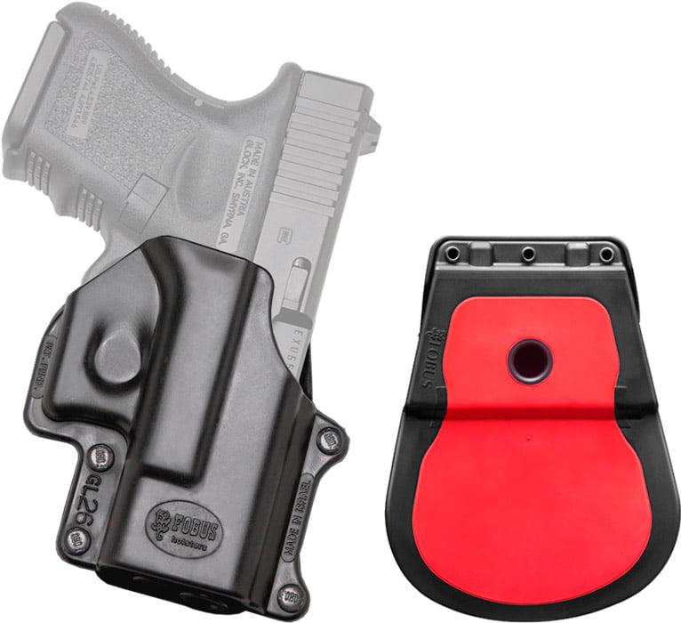 Кобура Fobus для Glock 26/27/28/33 с поясным фиксатором