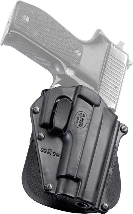 Кобура Fobus для пистолетов Sig Sauer 220, 226, 228, 245, 225 с поясным фиксатором и замком на спусковой скобе