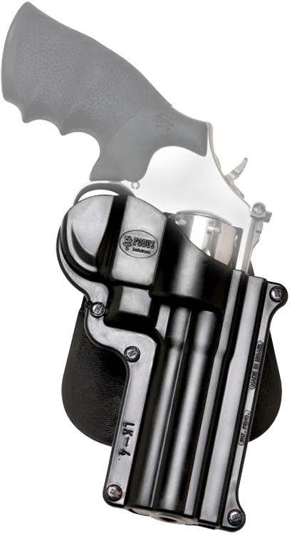 Кобура Fobus для револьвера со стволом 2'', с поясным фиксатором ц:black