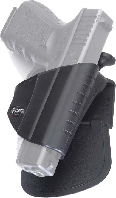 Кобура Fobus для Glock-17/19 с креплением на ремень (ширина 5 см), замок под большой палец.