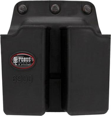 Подсумок Fobus для двух магазинов Glock 17/19, с креплением на ремень, поворотный.