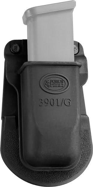Подсумок Fobus для одного магазина Glock 17/19 с креплением на ремень.
