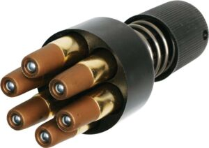 Спидлоадер ASG для револьверов Dan Wesson + 6 фальшпатронов