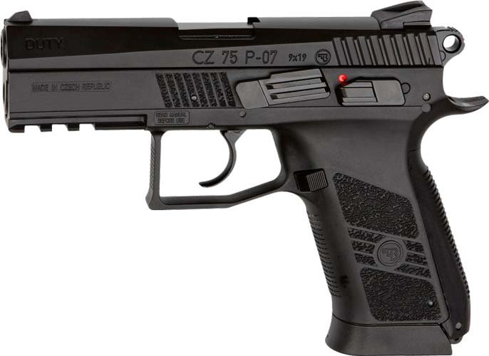 Пистолет пневматический ASG CZ 75 P-07 Duty кал. – 4.5 мм