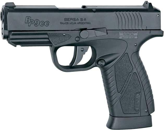 Пистолет пневматический ASG Bersa BP9CC Blowback кал. – 4.5 мм
