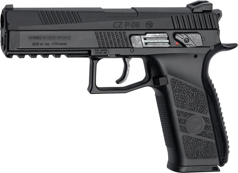Пистолет пневматический ASG CZ P-09 Blowback кал. – 4.5 мм