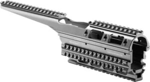 Цевье FAB Defense VFR-AK для Сайги. Материал – алюминий. Цвет – черный