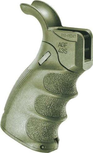 Рукоятка пистолетная FAB Defense AGF-43S тактическая складная для AR15. Olive Drab
