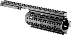 Цевье FAB Defense VFR для вывеш. ствола M4/M16/AR15. Материал – алюминий- черный