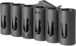 Патронташ FAB Defense на 6 патронов 20 кал. Цвет – черный,на планку Пикатинни, полимер