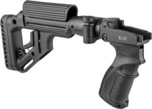 Приклад c адаптером приклада FAB Defense UAS для СВД