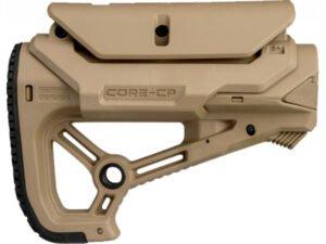 Приклад FAB Defense GL-CORE S CP с регулируемой щекой без трубы. Цвет – песочный