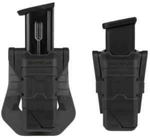 Паучер FAB Defense QL-9 для магазинов Glock с ускорителем заряжания. Цвет – черный