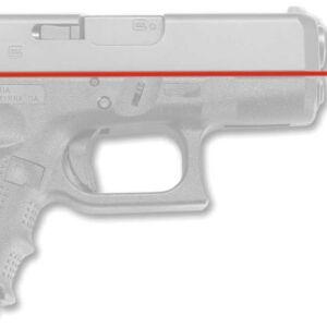 Лазерный целеуказатель Crimson Trace LG-852 на рукоять для GLOCK G4 26. Цвет – Красный