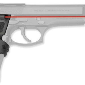 Лазерный целеуказатель Crimson Trace LG-402M на рукоять для BERETTA 92/96/M9. Цвет – Красный