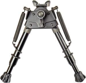 Сошки XD Precision EZ Pivot & Pan Notched Legs 6-9″ (ступенчатые ножки). Высота – 16.5-23.5 см