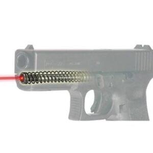 Целеуказатель LaserMax для Glock17 GEN4, красный