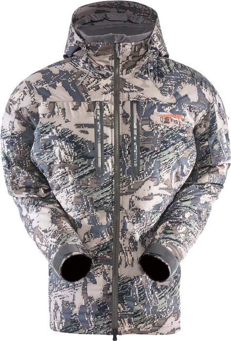 Куртка Sitka Gear Blizzard Parka. Размер – 2XL. Цвет – optifade open country