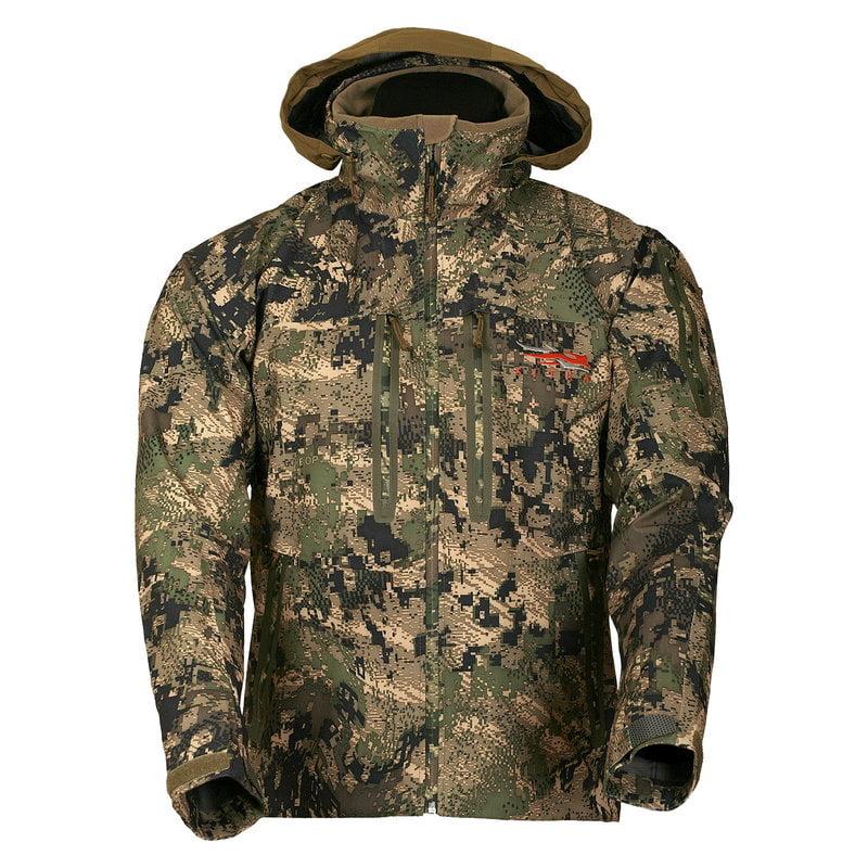 Куртка Sitka Gear Cloudburst. Размер – M. Цвет: optifade ground forest