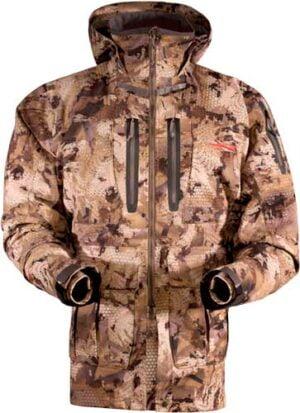 Куртка Sitka Gear WF Pantanal. Размер – 2XL. Цвет: optifade waterfowl