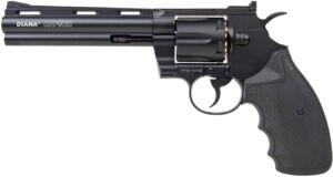 Револьвер пневматический Diana Raptor. Длина ствола – 6 дюймов. Кал. 4.5 мм