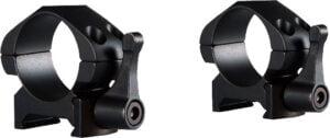 Кольца быстросъемные Hawke Precision Steel. d – 25.4 мм. Low. Weaver/Picatinny