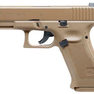 Пистолет пневматический Umarex Glock19X Tan кал. 4.5 мм ВВ