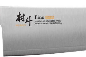 Нож кухонный Shimomura Fine Chef. Длина клинка – 210 мм, длина общая – 340 мм