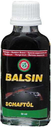 Масло для ухода за деревом Balsin 50мл. Красно-коричневое