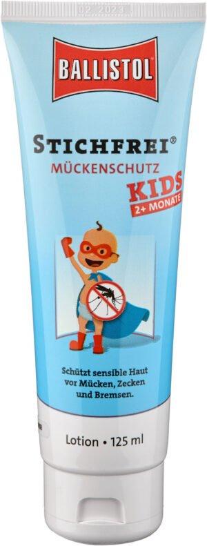 Гель Klever Stichfrei Kids (от комаров и клещей), 125мл, для детей от 2-х месяцев