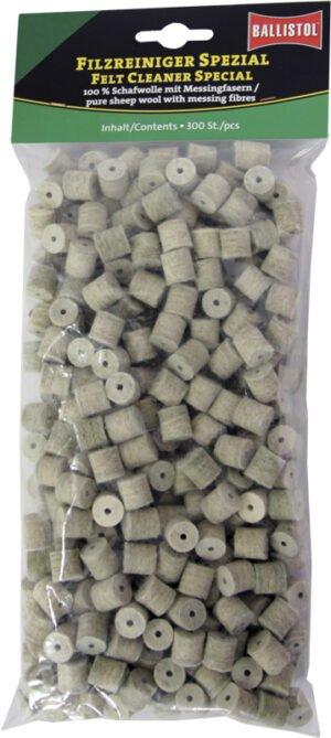 Патч для чистки Ballistol войлочный специальный для кал. 9 мм. 300шт/уп