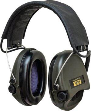 Наушники Sordin Supreme Pro X с кожаным оголовьем
