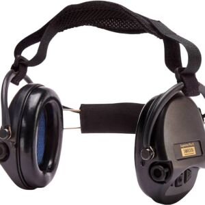 Наушники Sordin Supreme Pro X з задним держателем. Цвет: черный