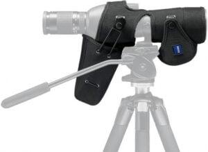 Чехол защитный для зрительной трубы Zeiss Diascope 85 T* FL с прямым окуляром. Материал – нейлон. Цвет – черный.