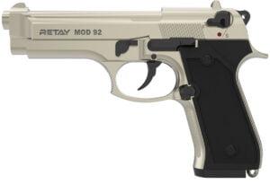 Пистолет стартовый Retay Mod.92 кал. 9 мм. Цвет – satin.