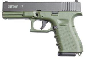 Пистолет стартовый Retay G17 кал. 9 мм. Цвет – olive.