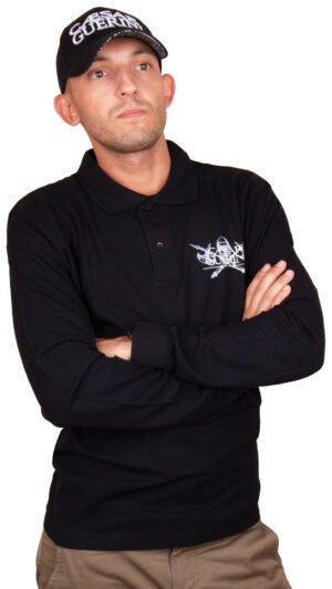 Футболка Caesar Guerini Polo long sleeve M
