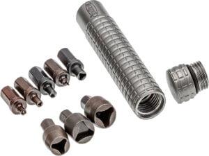 Инструмент Microtech Kit Bead Blast, держатель и 8 насадок-ключей
