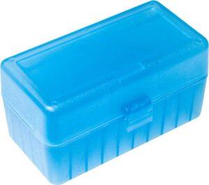 Коробка для патронов GTI Equipment кал .223 Rem. Количество – 50 шт. Цвет – голубой