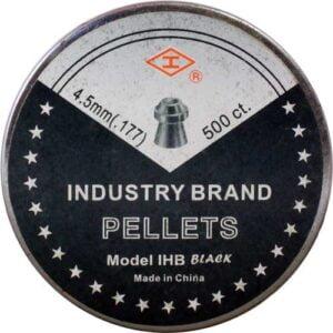 Пули пневматические Shanghai Black Hollow Pointed. Кал. 4.5 мм. Вес – 0.48 г. 500 шт/уп