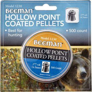 Пули пневм Beeman Hollow Point 4,5 мм , 500 шт/уп