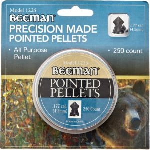 Пули пневм Beeman Pointed 4,5 мм , 250 шт/уп