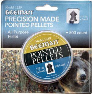 Пули пневм Beeman Pointed 4,5 мм , 500 шт/уп